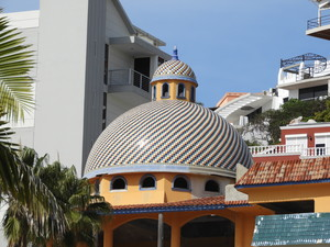 Tiled Domed building