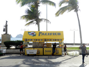 Pacifico Beer Stand