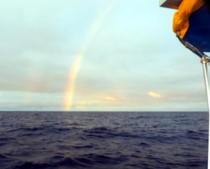 Rainbow on the Pacific