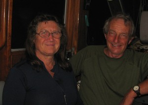 Peter and Joyce of s/v Minx